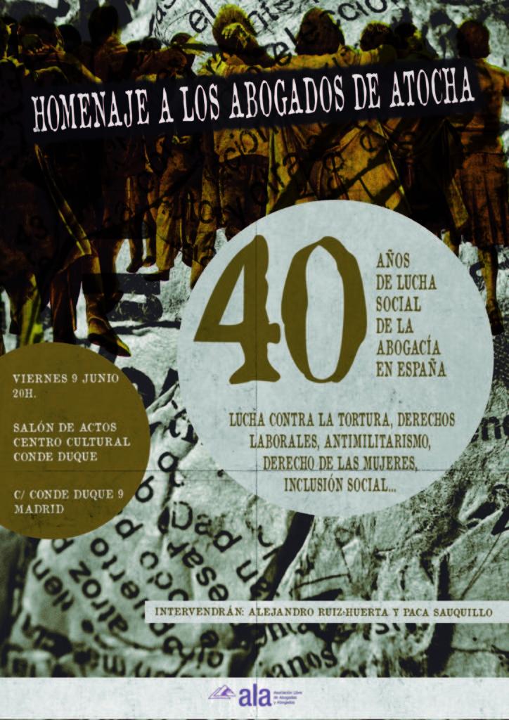ACTO 40 ANIV